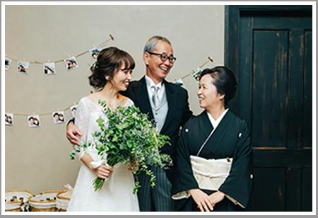 家族婚写真